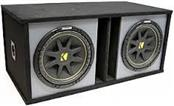 KICKER Car Speakers/Speaker System 10 INCH SUB IN BOX